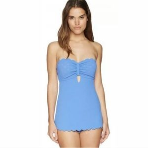Jessica Simpson Skirted One Piece Swimsuit S